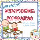 Interactive Subtraction Strategies Notebook