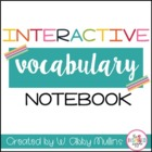 Interactive Vocabulary Notebook