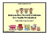 Interactive Word Problems for Math Workshop
