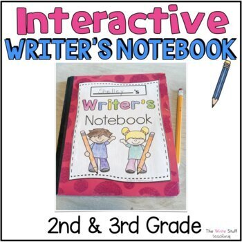 Interactive Writer's Notebooks {50 pages} CCSS-TheWriteStuff
