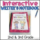Interactive Writer's Notebooks (50 pages) {CCSS}
