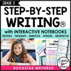 Interactive Writing Notebook Grade 3 with ALL Common Core