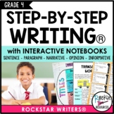 Interactive Writing Notebook Grade 4 with ALL Common Core