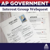 Interest Group and PAC Websearch