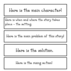 Intermediate Comprehension Bookmarks