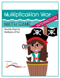 Multiplication War – Intermediate Level Math Game: Double-
