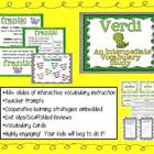 Intermediate Vocabulary Study (Explicit Instruction): Verdi
