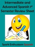 Intermediate/Advanced Spanish 1st Semester Review Sheet (1