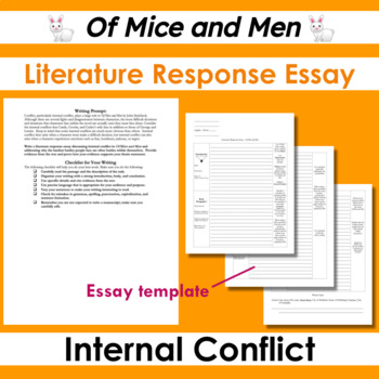 Graphic Organizer Mice and Men