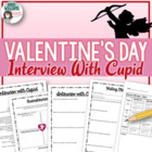 Valentine's Day Writing Activity - Interview With Cupid
