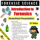 Intro to Forensic Science PowerPoint (.ppt)