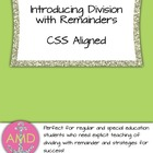 Division with Remainders Introduction- Strategy & Steps fo