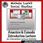 Introduction to America and Canada Ppt Lecture Notes - Geo