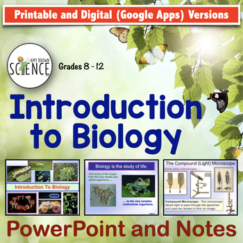 Introduction to Biology: Scientific Method, Graphing, Micr