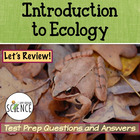 Introduction to Ecology Review PowerPoint 55 Questions and