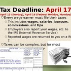 Introduction to Federal and State Taxes