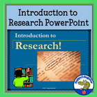 Introduction to Research PowerPoint Presentation