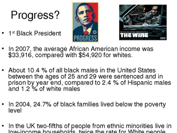 Introduction to US Civil Rights (Martin Luther King, Obama, etc)