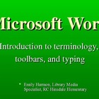 Introduction to Using Microsoft Word PowerPoint