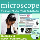 Introduction to the Microscope Presentation (Looking at Cells)