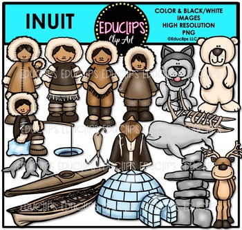 Inuit Clip Art Bundle