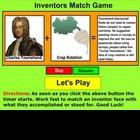 Inventors 1 Match Game - Bill Burton