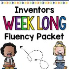 Inventors Weeklong Fluency Packet