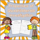 Investigating the properties of quadrilaterals-geometry Co