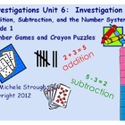 Investigations Math Unit 6, 1st Grade