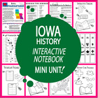 Iowa History Lesson-Common Core-Audio Included!