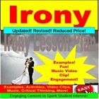 Irony Introduction PowerPoint Lesson