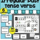 Irregular Past Tense Verb Game- Grammar and Vocabulary Unit Plan