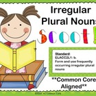 Irregular Plural Nouns Scoot Game ~ Common Core Aligned