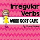 Irregular Verb Word Sort