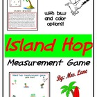 Island Hop...A Measurement Game (Great Center or Workstation!)