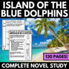 Island of the Blue Dolphins: Complete Novel Study - Questi