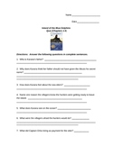 Island of the Blue Dolphins Quiz Chapters 1-5