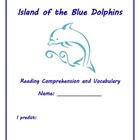 Island of the Blue Dolphins Reading and Vocabulary Packet