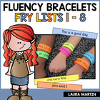 It's A Wrap! Fry Fluency Bracelets
