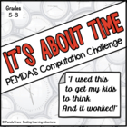 It's About Time- A PEMDAS (Order of Operations) Computatio