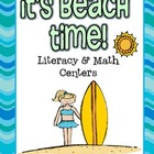 It's Beach Time! Math Centers