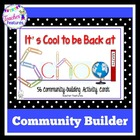 It's Cool to be Back at School: Community-Building Activity Cards