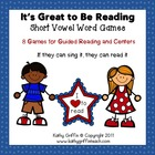 It's Great to Be Reading Activity Pack - Short Vowel Words