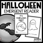 It's Halloween Night Book {Emergent Reader}
