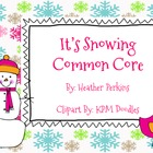 It's Snowing Common Core {Math and Literacy Centers}