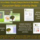 It's a Brain Thing! 3 Major Parts of the Brain Activity Pack