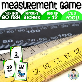 It's a Foot! Measurement Game ~Adding Inches Up to a Foot~