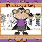 It's a Halloween Costume Party:  Literacy and Math Activities
