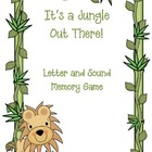It's a Jungle Out There--Letter/Sound Memory Game