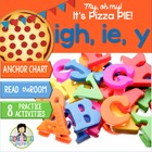 igh, y, ie Word Work ~Phonics~ Activity Pack